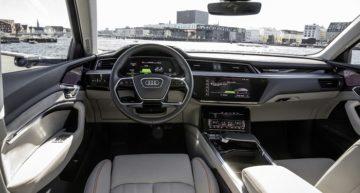 Audi's Electric SUV e-tron Quattro Flaunts Virtual Exterior Mirrors