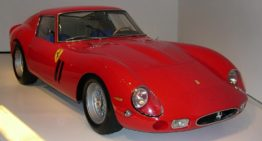 1962 Ferrari 250 GTO beat all estimates to become the most expensive car sold at auction