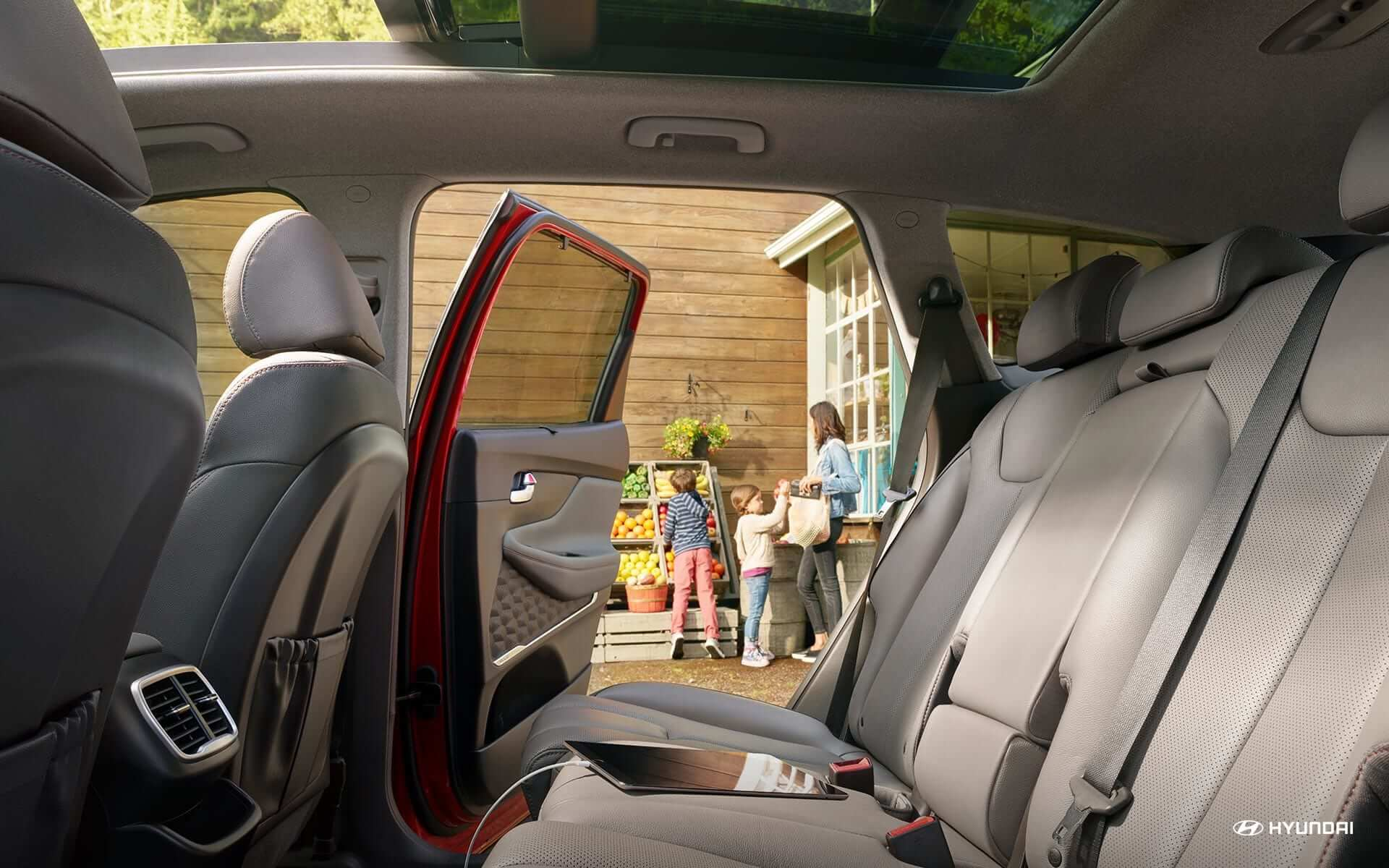 Hyundai 2019 Santa Fe interior