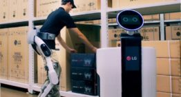 LG's new Exoskeleton Suit can help prevent worker injury