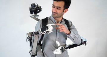 Wearable Robotic Arms that can be controlled from any part of the globe