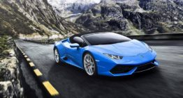 2020 Lamborghini Huracan Spyder prides powerful interior technology