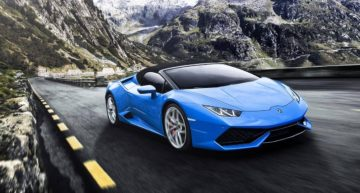 2020 Lamborghini Huracan Spyder prides powerful interior technology