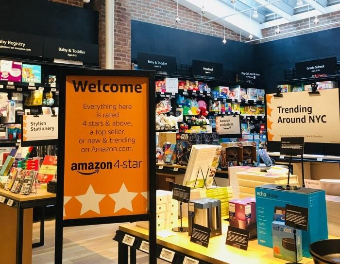 Amazon 4-star store