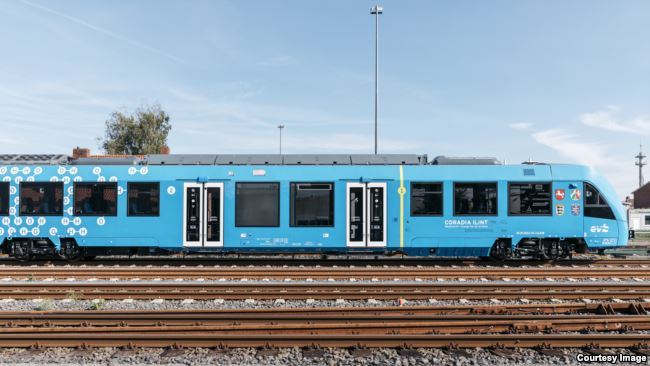 Hydrogen train in Germany