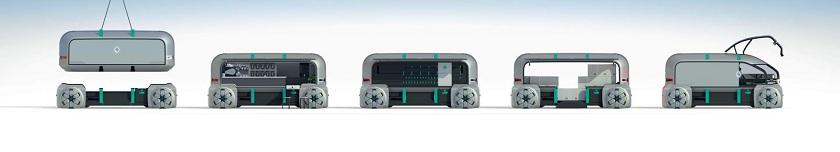 Renault EZ-PRO concept robo