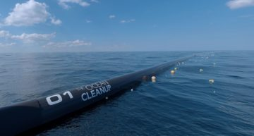 The Ocean Cleanup to sweep The Great Pacific Garbage Patch
