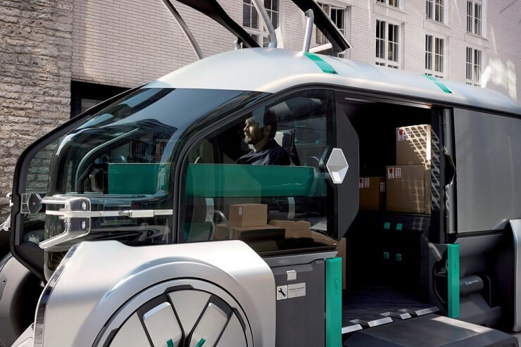 driverless robo-pods