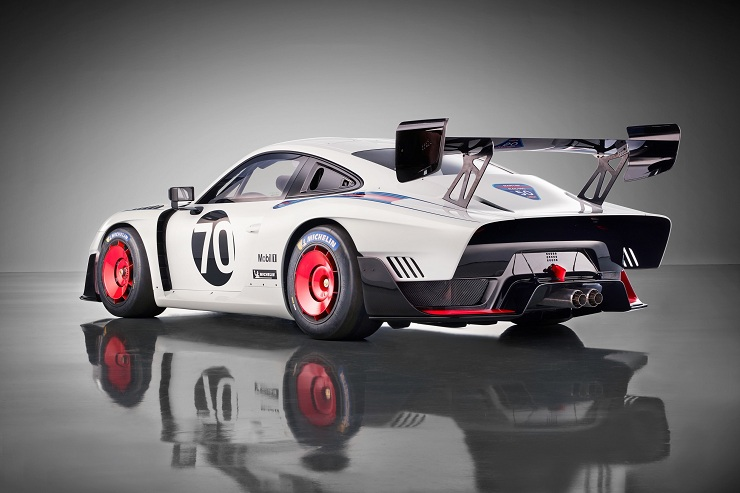 new Porsche race car
