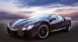 Mitsuoka Rock Star is a Mazda MX-5 with a Chevy Corvette finish