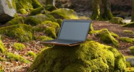 This Wooden Laptop is Made From Recycled Wood, Paper & Reusable OEM Parts