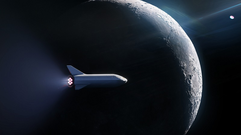 Elon Musk Starship Big Falcon Rocket