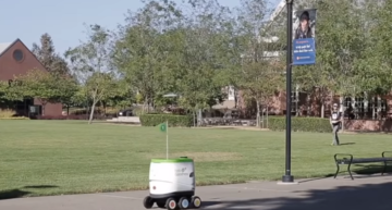 PepsiCo unveils snacks delivery robots at California campus