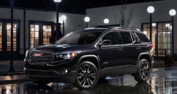 2020 GMC Acadia SUV Gets A New Turbocharged Engine