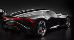 Bugatti unveils La Voiture Noire: The World's Most Expensive Car!