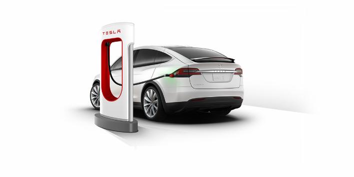 Supercharger-Tesla