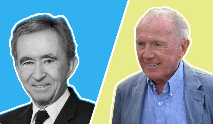 Bernard Arnault and Francois Pinault business rivalry