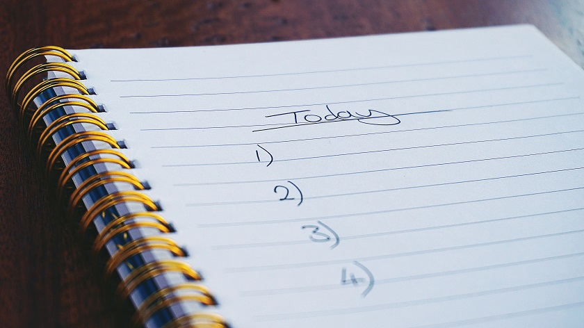 daily habits of entrepreneurs - they make to-do lists