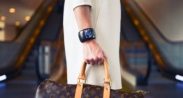 Louis-Vuitton unveils handbags with OLED screens