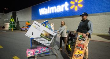 Walmart Introduces One-Day Delivery to Undermine Amazon