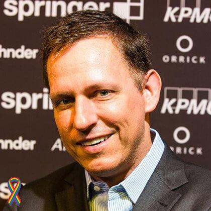 Peter Thiel -Influential queer Industry Leaders