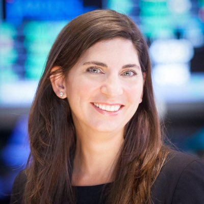 first NYSE female president - Stacey Cunningham
