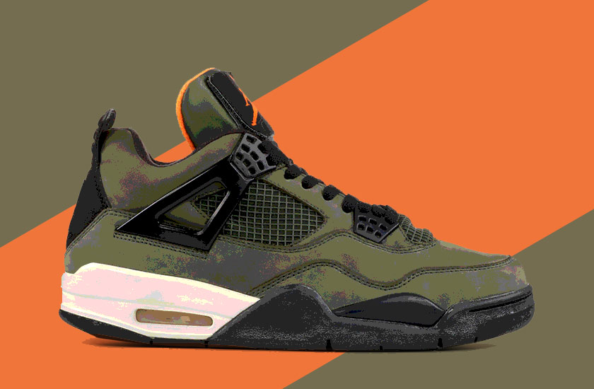 Nike Air Mamost expensive sneakers in the world -Air Jordan 4 X Undefeatg - world's most expensive sneakers