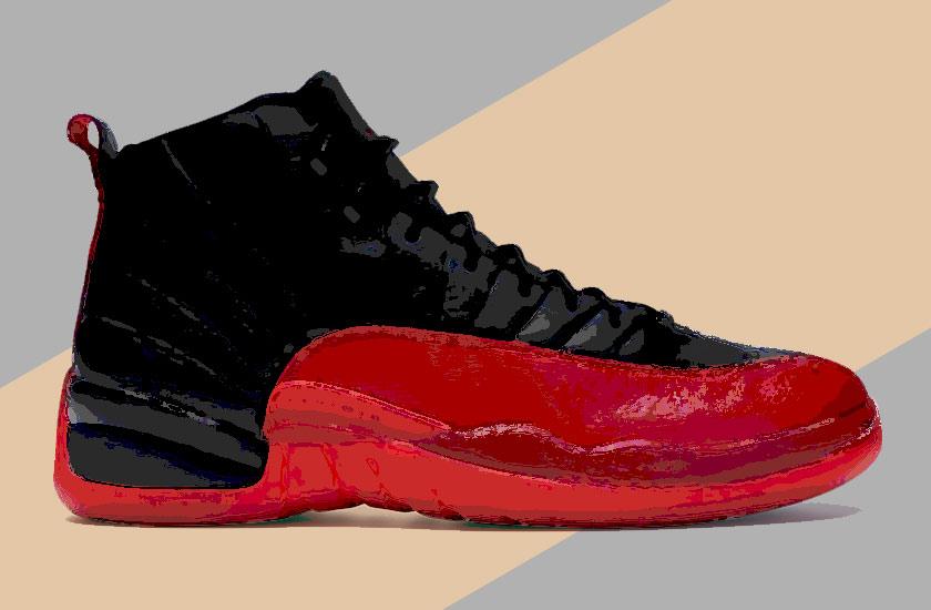 expensive sneakers - Air Jordan 12 (Flu Game)