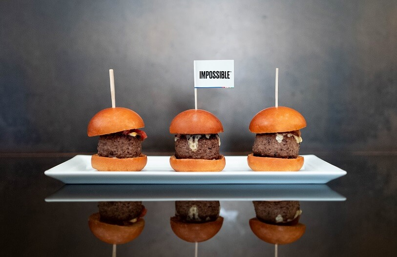 meatless burger - impossible foods