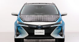 Solar-powered Toyota Prius gets 7x more miles of range