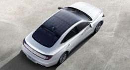 Hyundai Launches the Sonata Hybrid with Solar Panel Roof