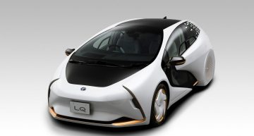 Toyota's electric LQ concept comes with an AI personal assistant 'Yui'