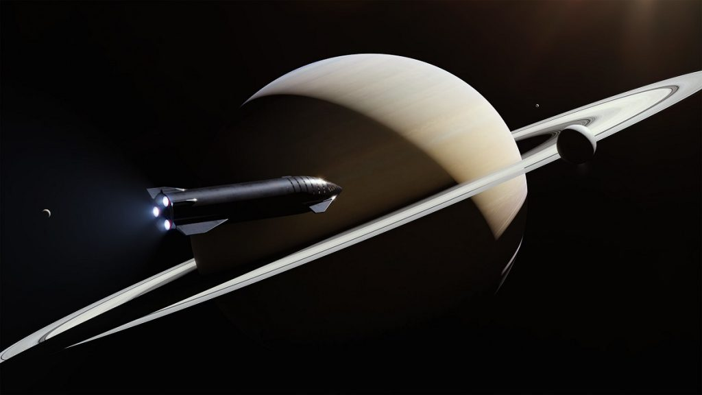 Starship | Artist's rendering (Source: SpaceX)
