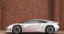 Japan unveils a supercar made of wood