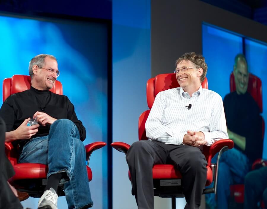 Apple vs. Microsoft rivalry
