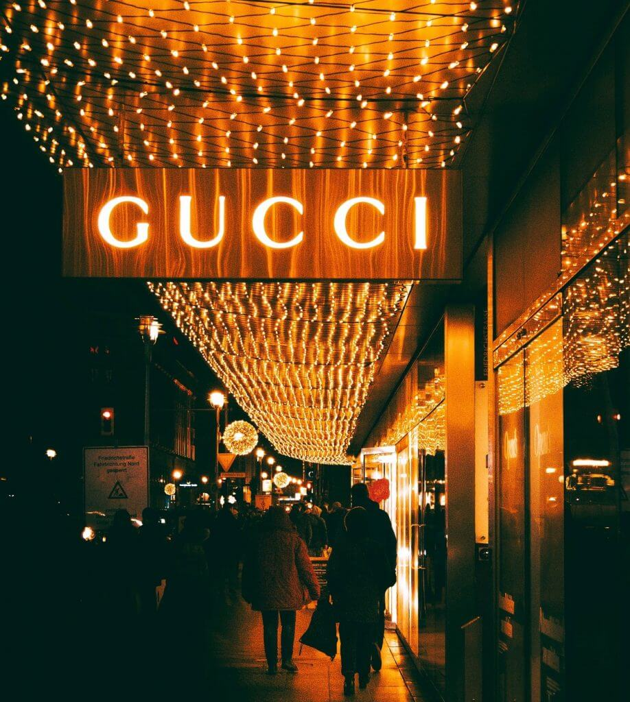 Gucci most expensive luxury brands in the world