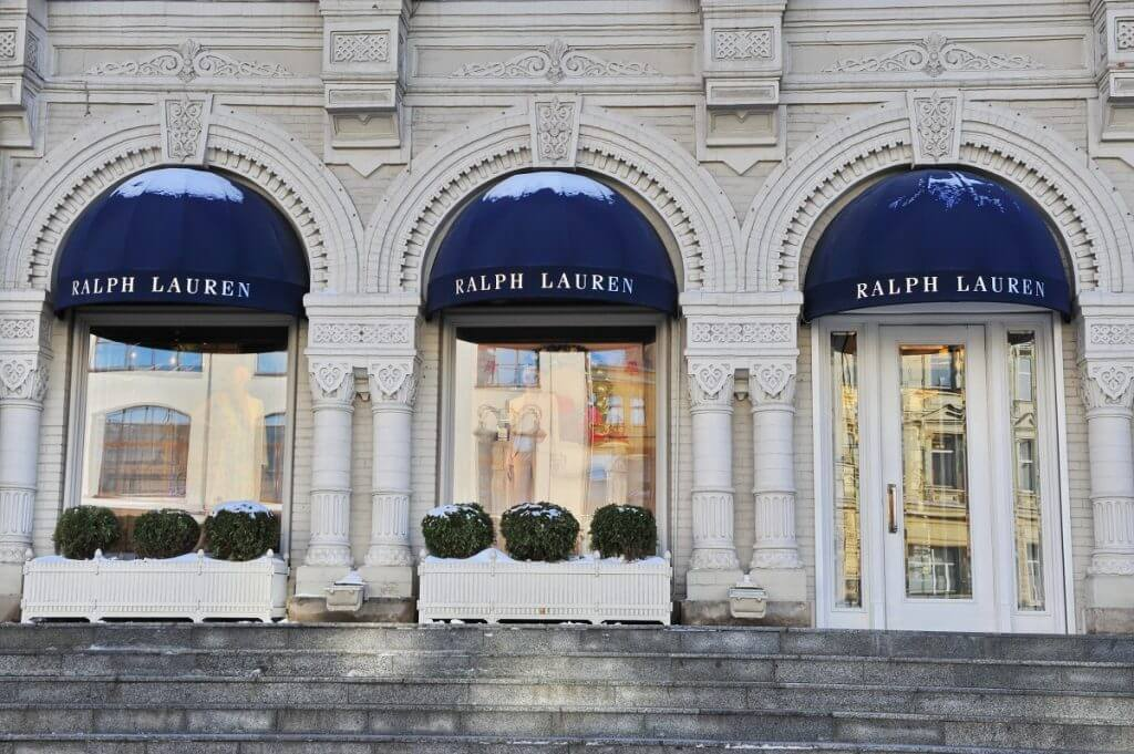 Ralph Lauren most expensive clothing brands