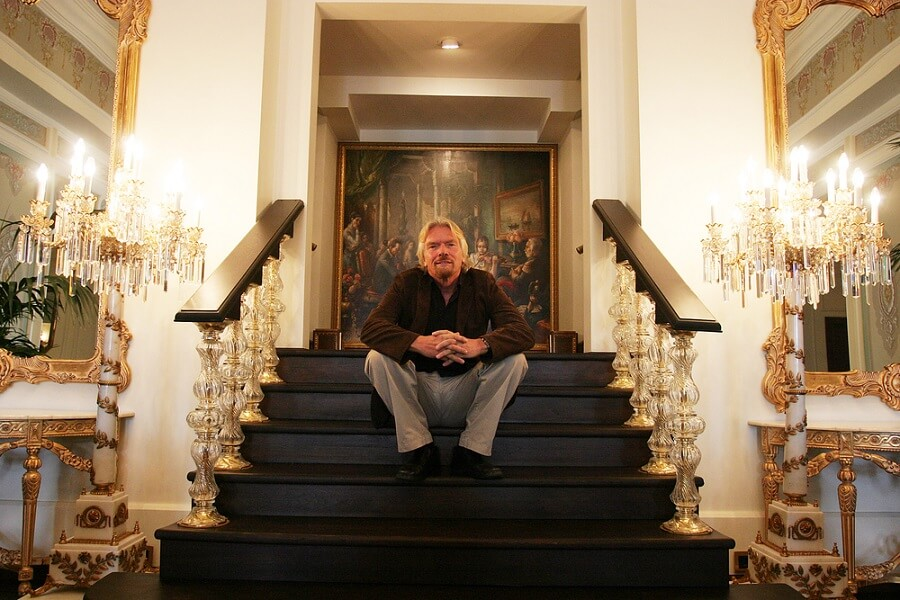 highly successful people who wake up early Richard Branson