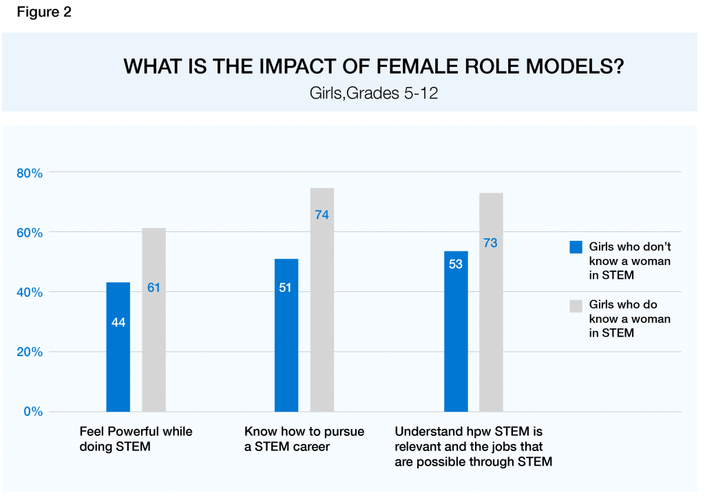 Figure 2 Closing the STEM Gap (Source Microsoft)