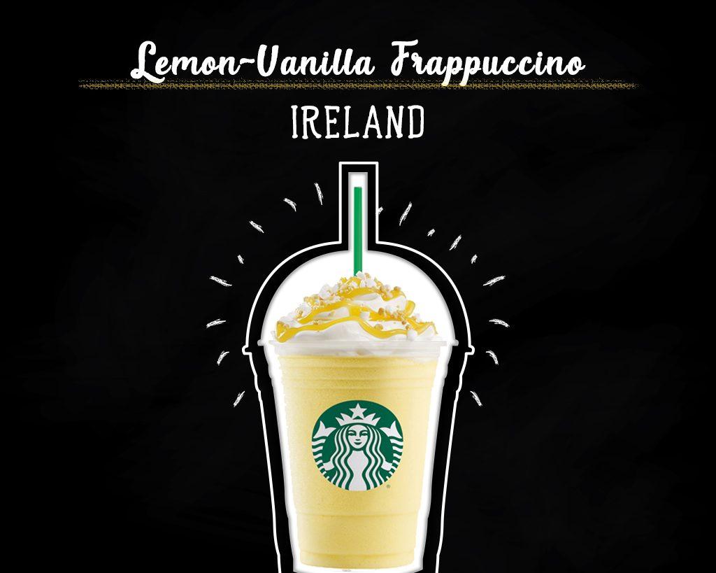 Lemon-Vanilla-Frappuccino