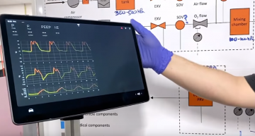Tesla Shows Off Prototype Ventilator Made Using Car Parts
