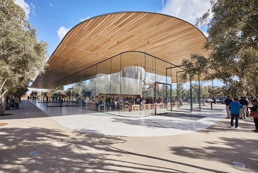 Apple-Park-Visitor-Center-Trillion-Valuation