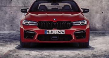 2021 BMW M5 Debuts New Looks