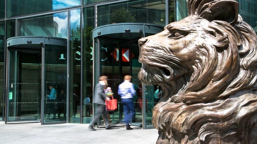 HSBC-Lion-London