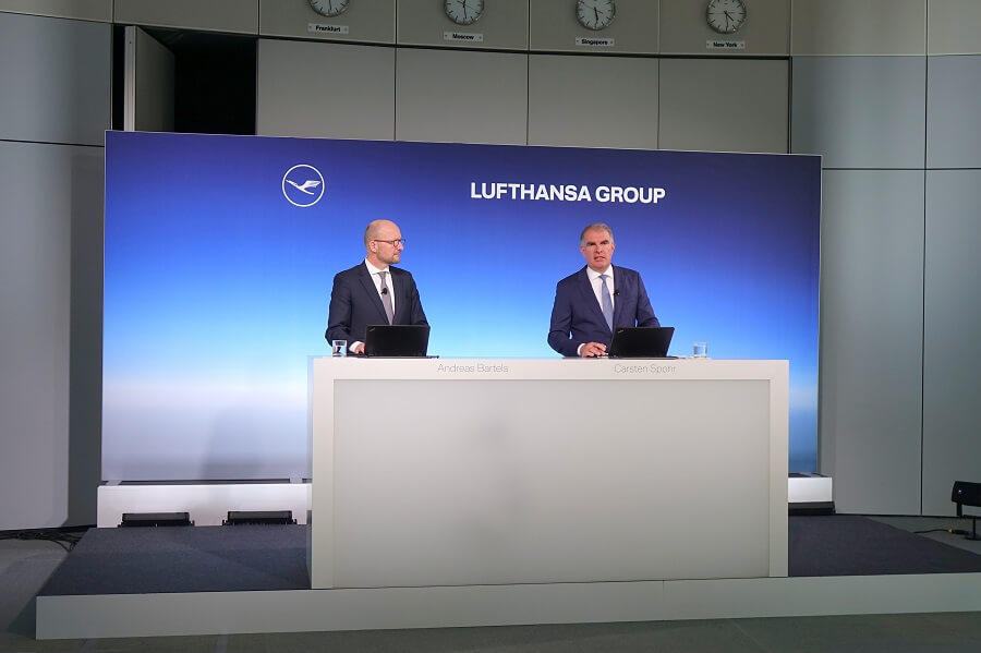 Lufthansa-CEO-Carsten Spohr-Andreas Bartels-bailout-deal