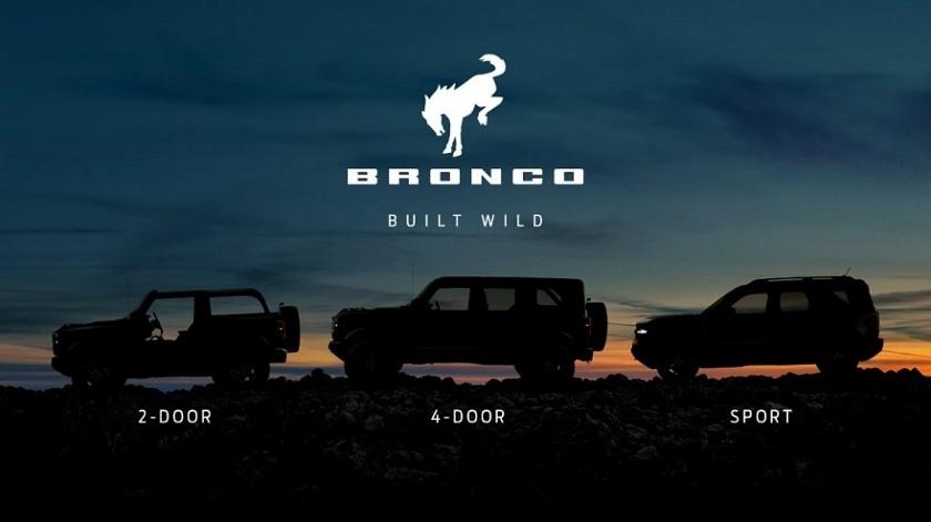 2020 ord Bronco Reveal