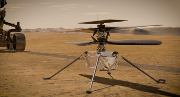 Helicopter Ingenuity's six unique features that makes it Mars ready