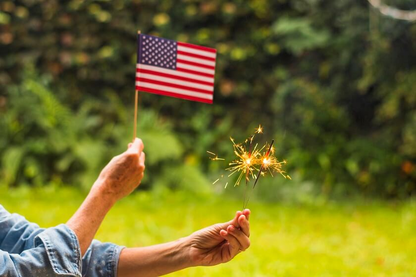 Why we celebrate Fourth of July 4th with Fireworks display tradition show