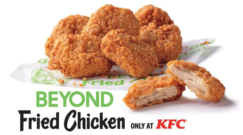 KFC Beyond Fried Chicken Plant based Meat Bioprinting