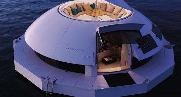 Anthenea: The ultimate in sea pod luxury